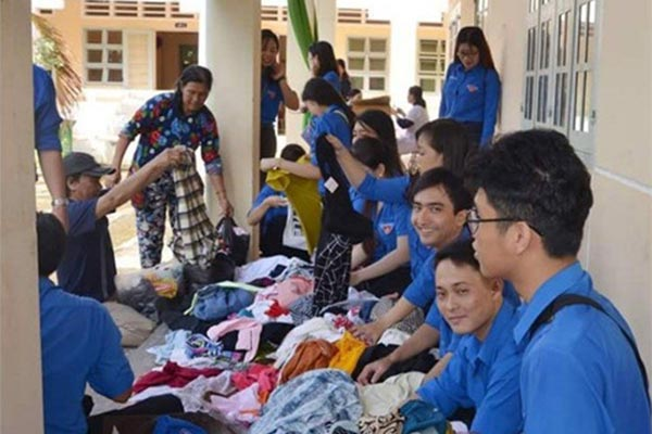 Quyên góp từ thiện rất hay được tổ chức tại các trường học