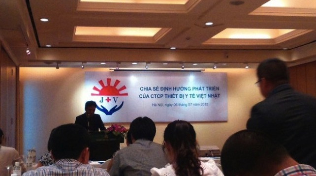 Công ty thiết bị y tế Việt Nhật