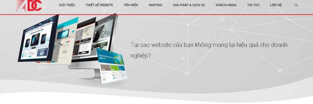 ADC: Đơn vị làm web uy tin - chuyên nghiệp